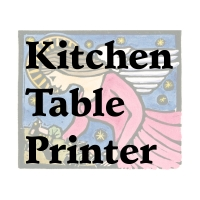Kitchen Table Printer Etsy Shop